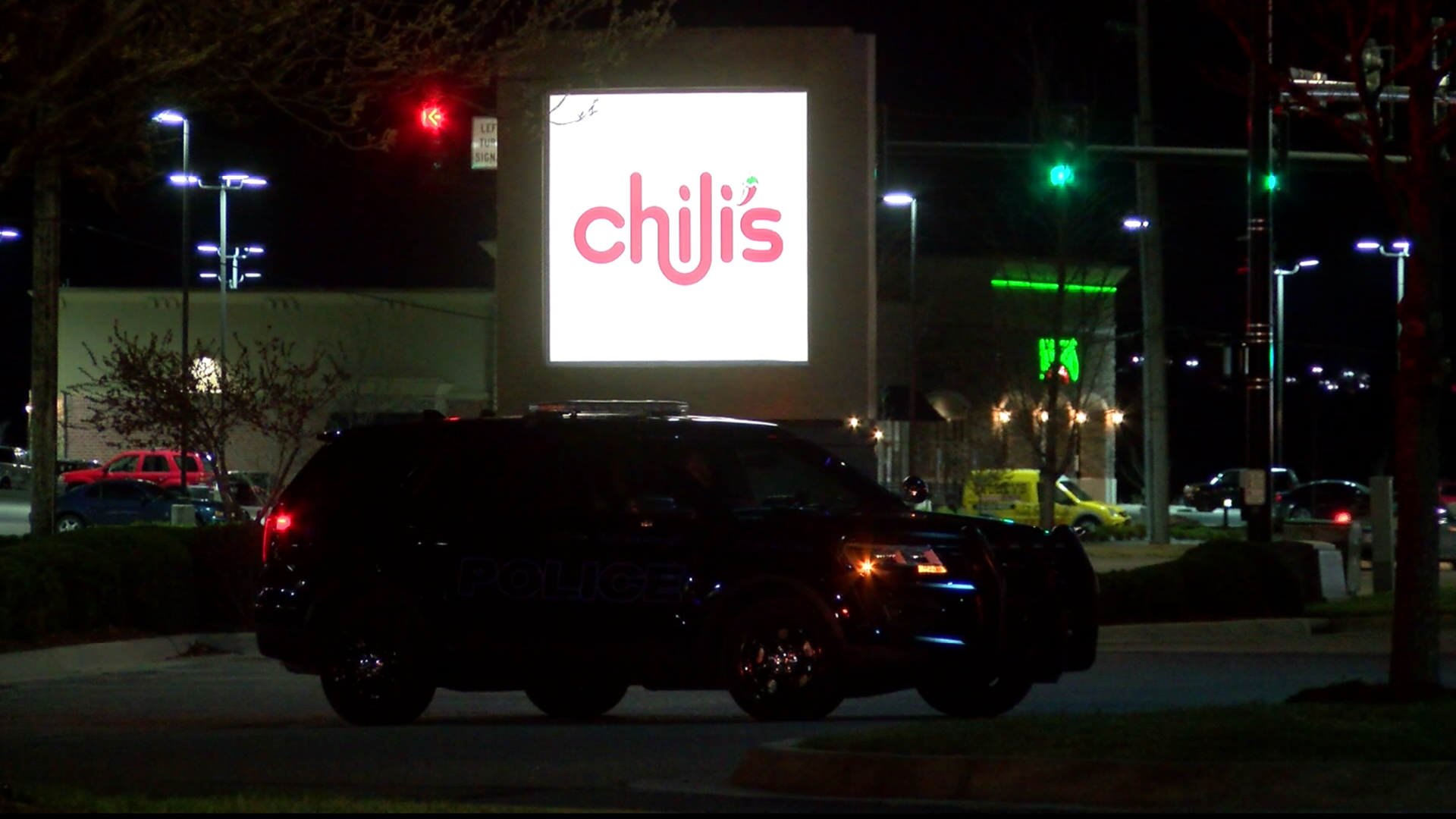 Suspicious package at Chilis