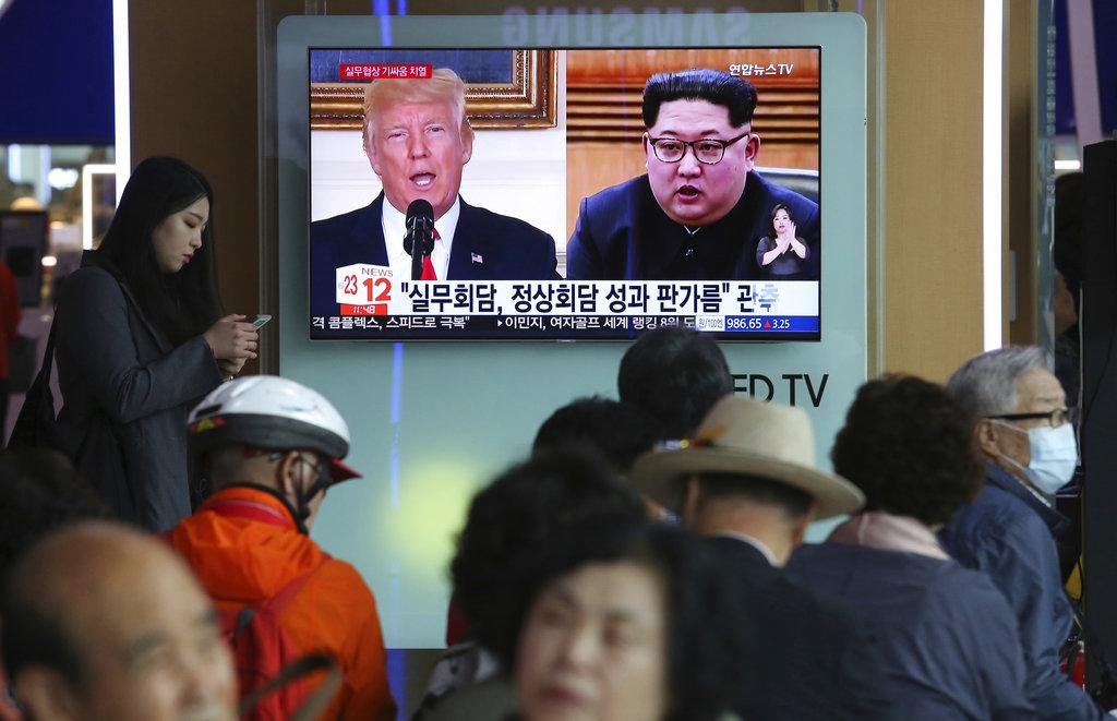South Korea Koreas Tensions_1527626253605