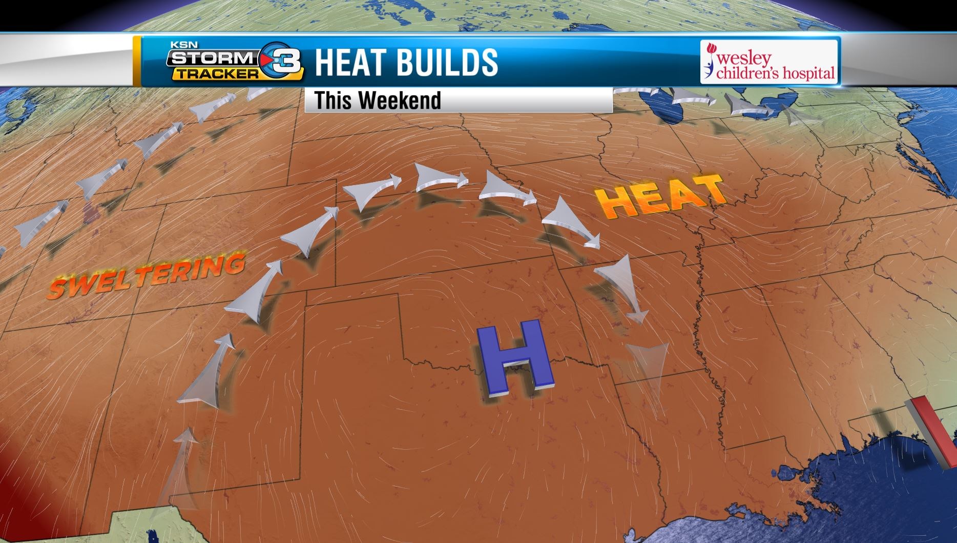 Teachman's Take: Isolated Storms, Triple Digits Draw Near