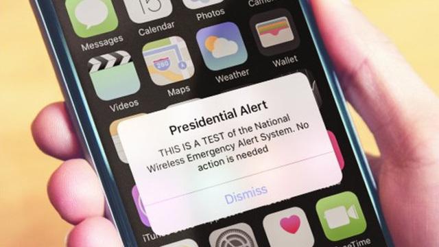 Presidential Text Alert FEMA