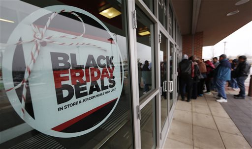 Black Friday Sales, Shoppers, J.C. Penny_321604