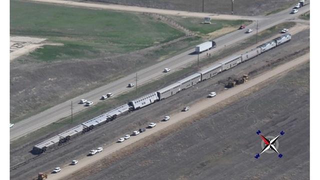 Amtrak derailment Kansas