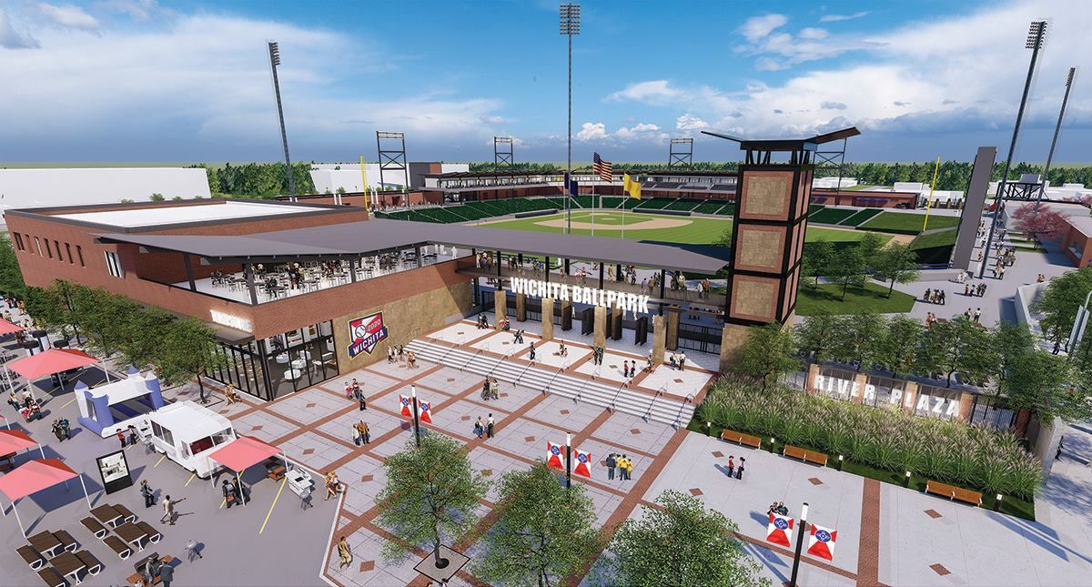 Wichita baseball stadium new concept 4