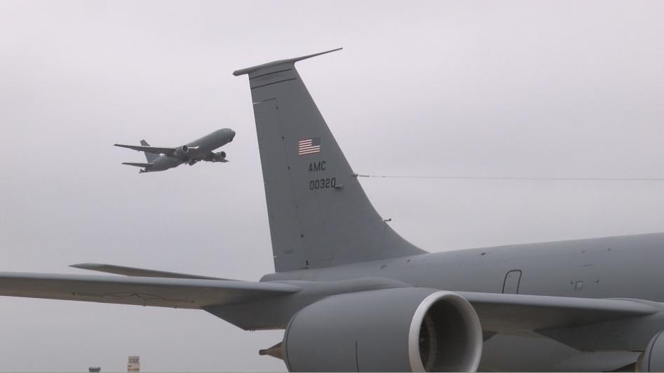 KC-46 Tanker Flies First Mission