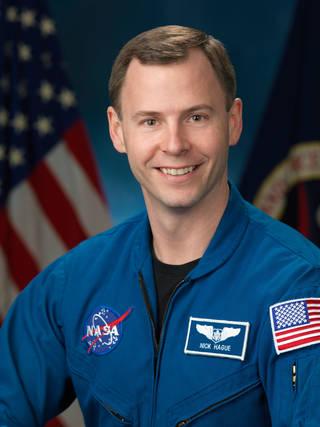 Nick Hague Courtesy NASA