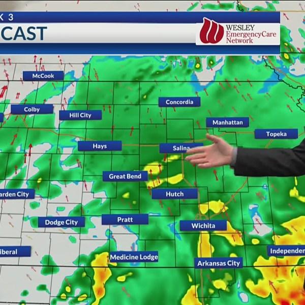 Price's Pressure Points: Rain's right around the corner