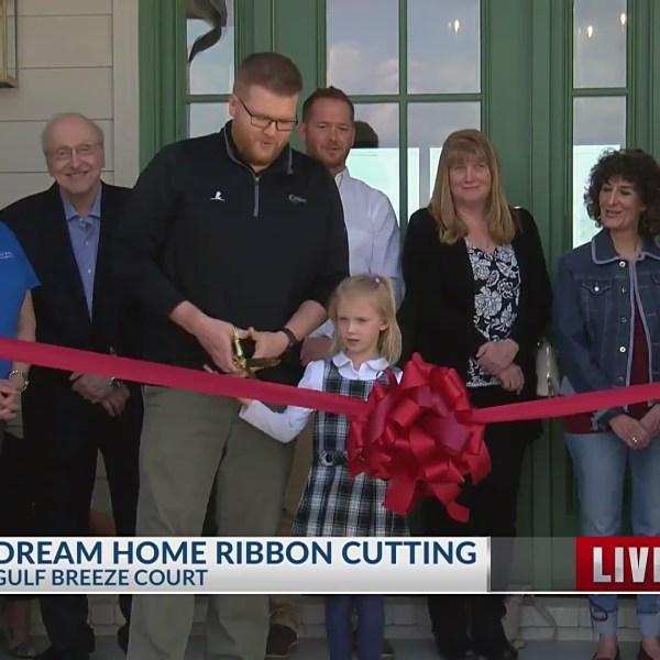 St. Jude Dream Home ribbon cutting