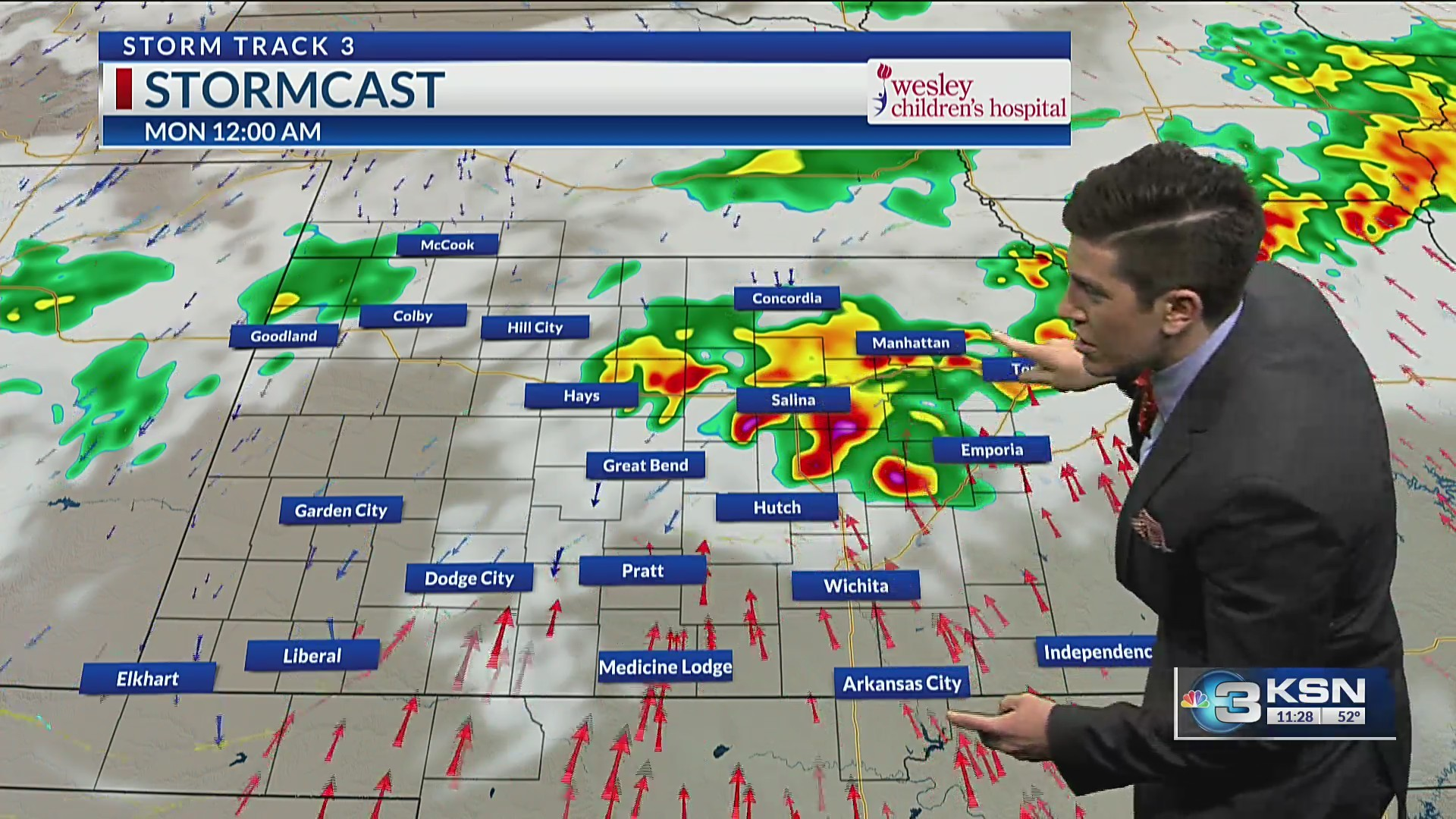 Storm Track 3 Update: Scattered thunderstorms by the latter half of our Sunday