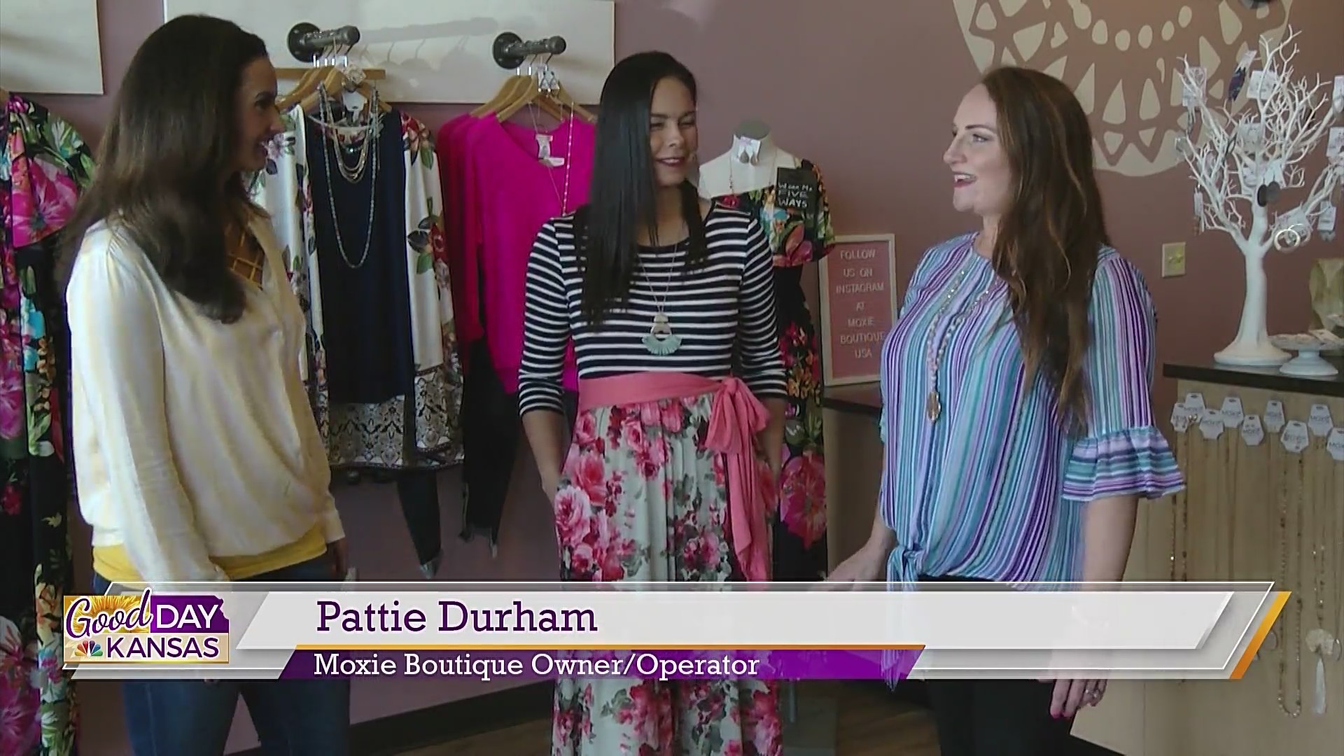 Fashion Friday With Moxie Boutique: Spring & Summer Stripes