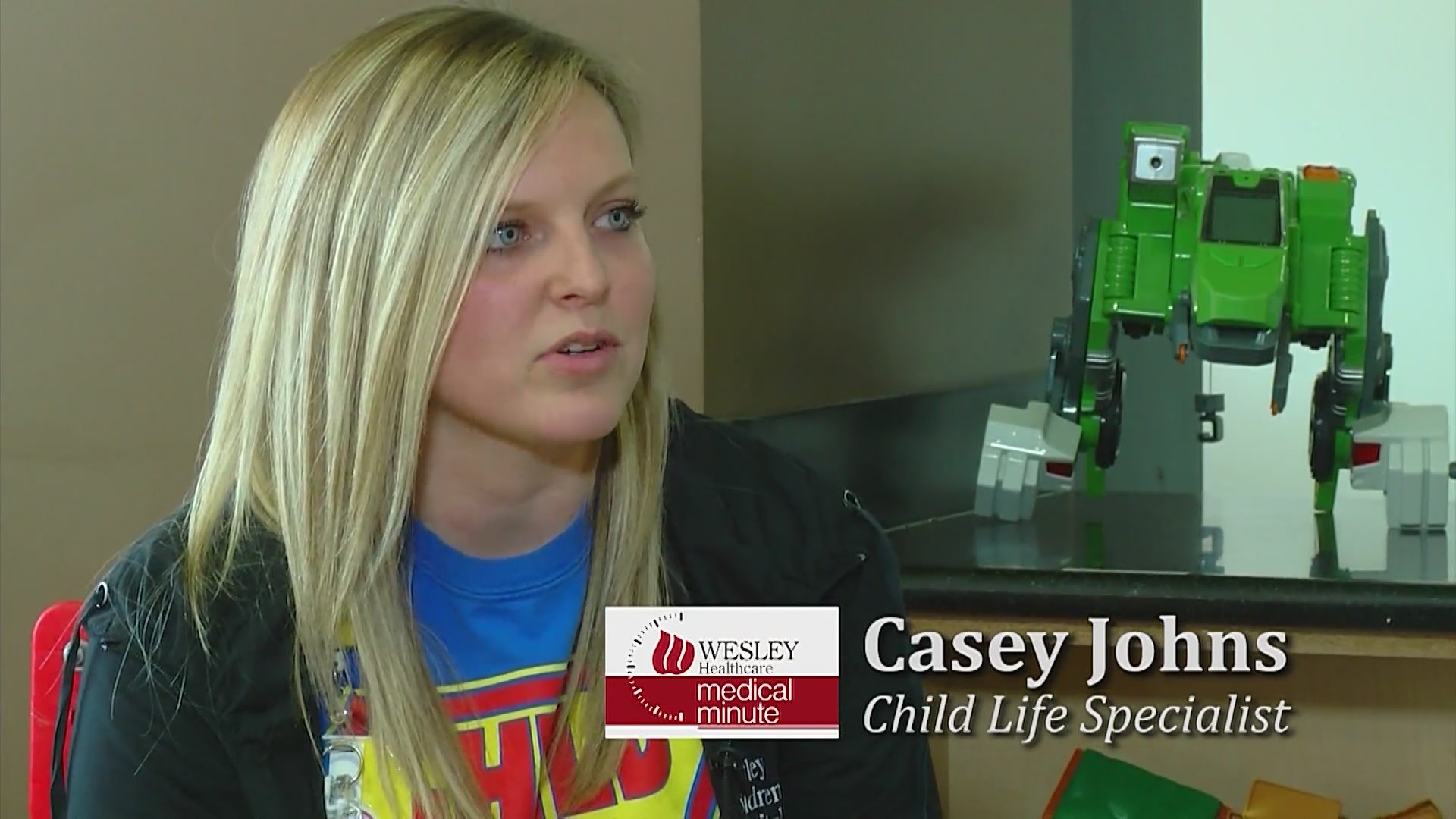 Wesley Medical Minute:Child Life Services