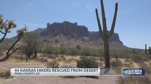 Dozens of Kansans rescued from Arizona desert by park officials who warned them not to enter