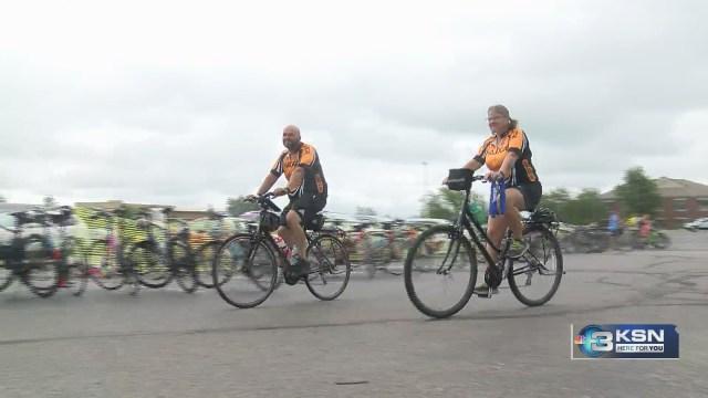 Wichitans bike to help children with disabilities at Pedalfest