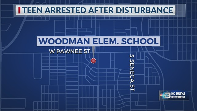 14-year-old arrested after causing security concerns at a Wichita school