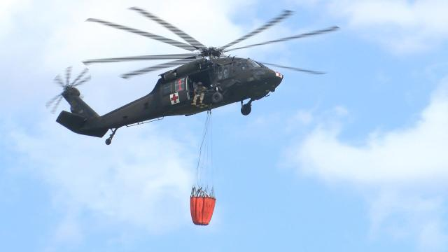 Kansas National Guard training to better help local agencies during wildfires