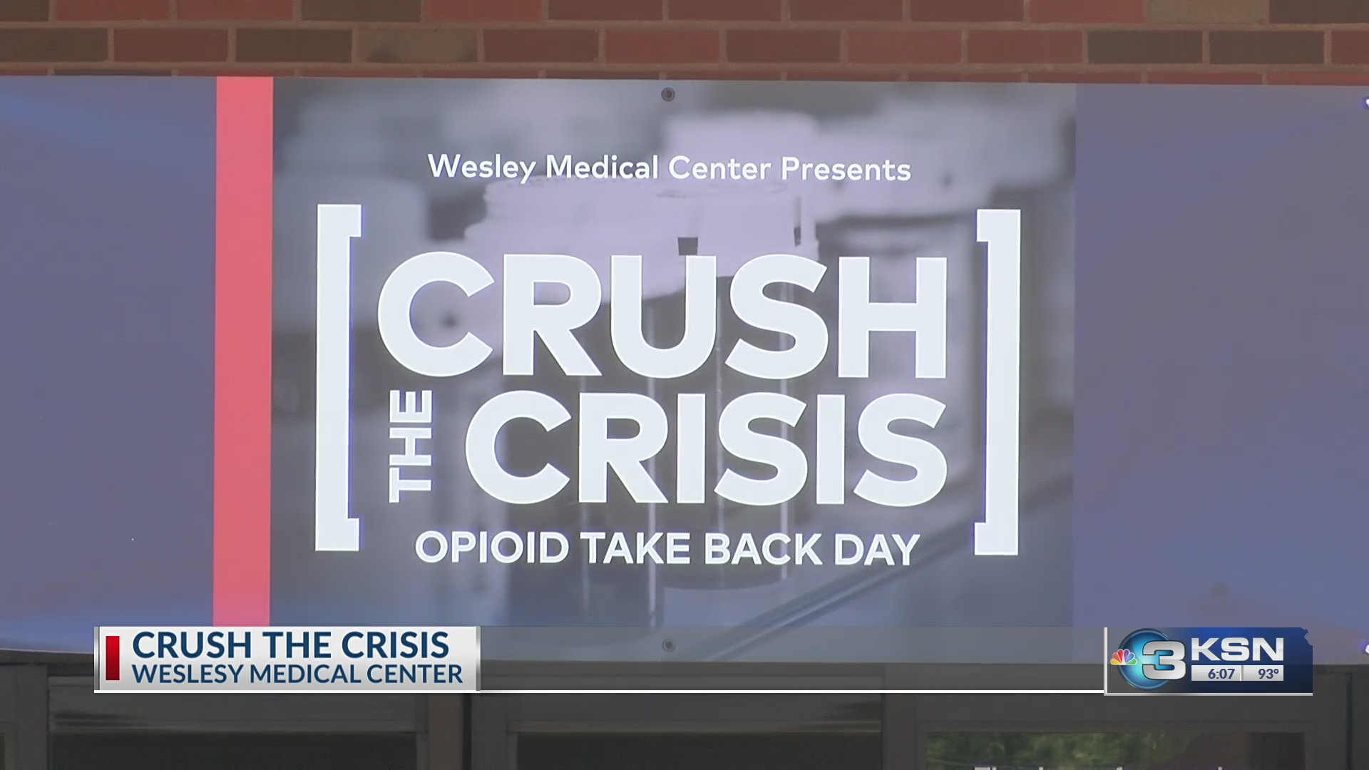 Wesley Medical Center joins the fight in opioid addiction