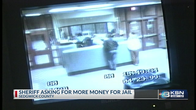 County commission approves more money for Sedgwick County Jail