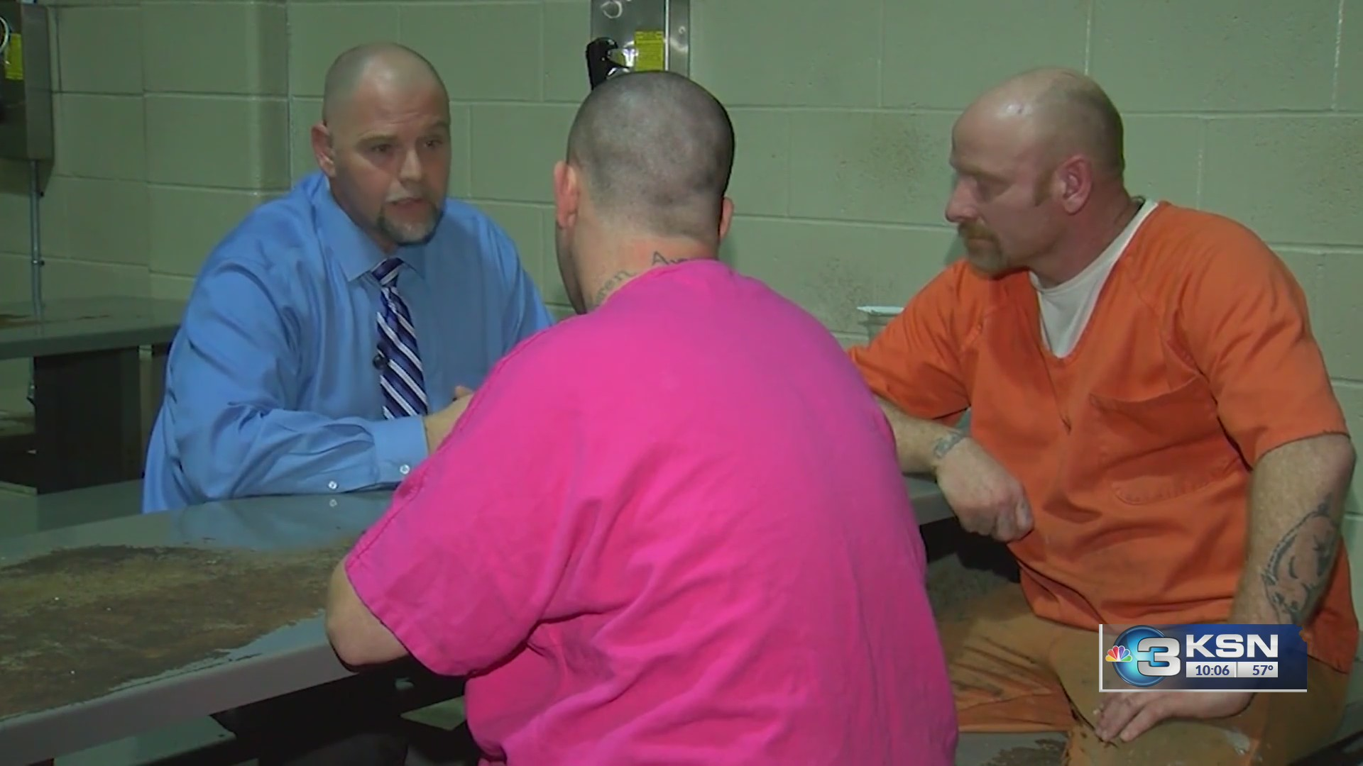 Kansas Department Of Corrections Inmates Arrive Safely In