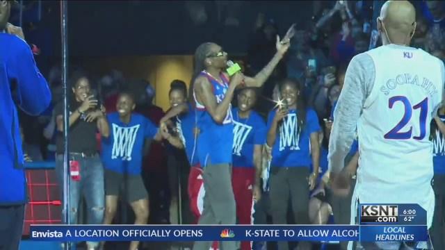 Bill Self responds to claims surrounding Snoop Dogg's KU performance