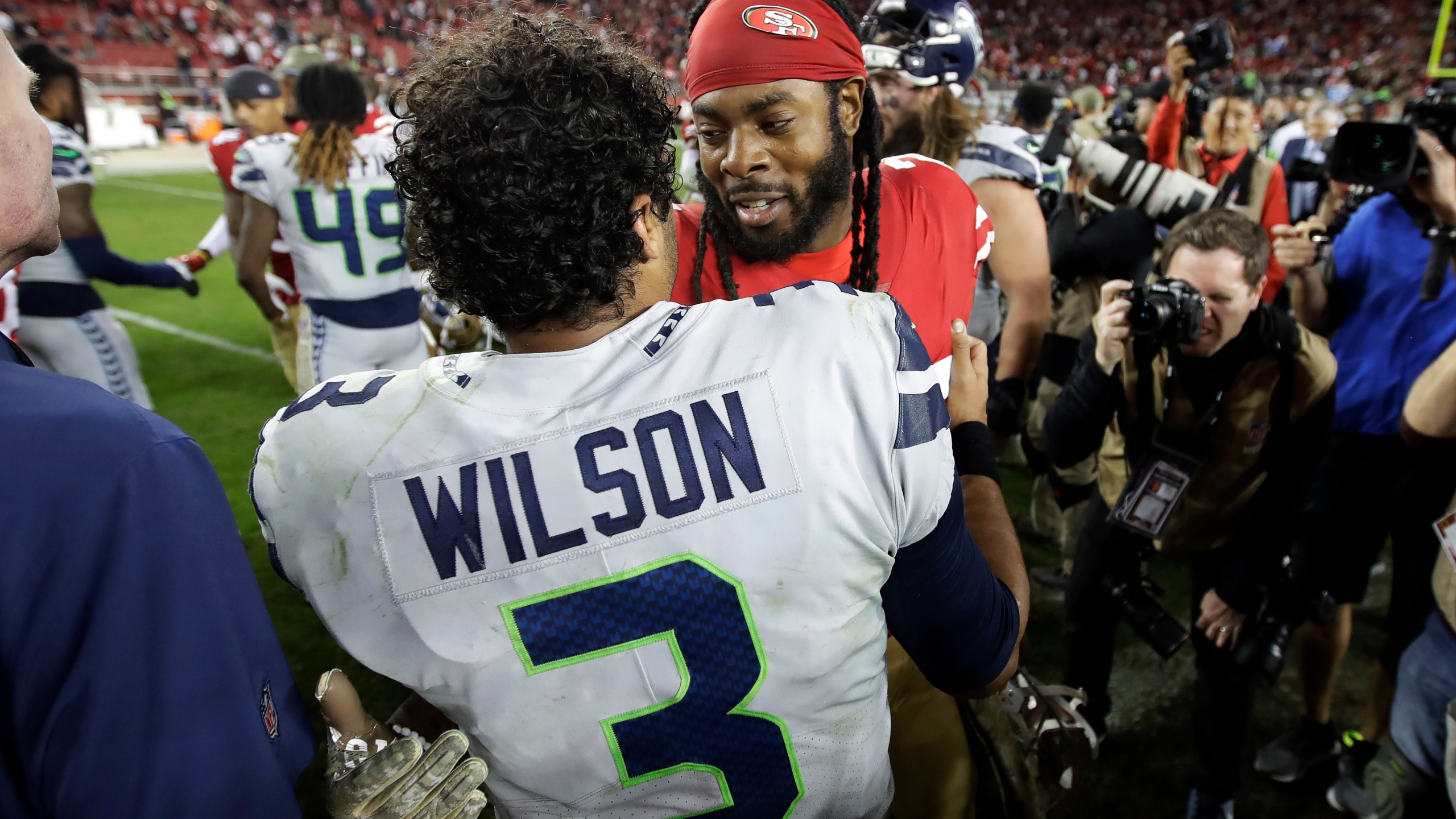 Russell Wilson, Richard Sherman