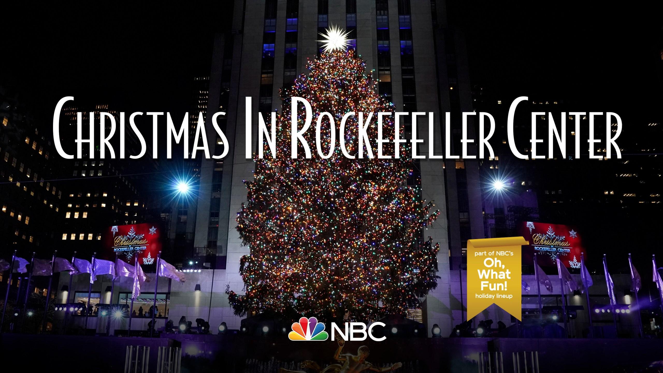 Nbc S Christmas In Rockefeller Center Special Returns Dec 4