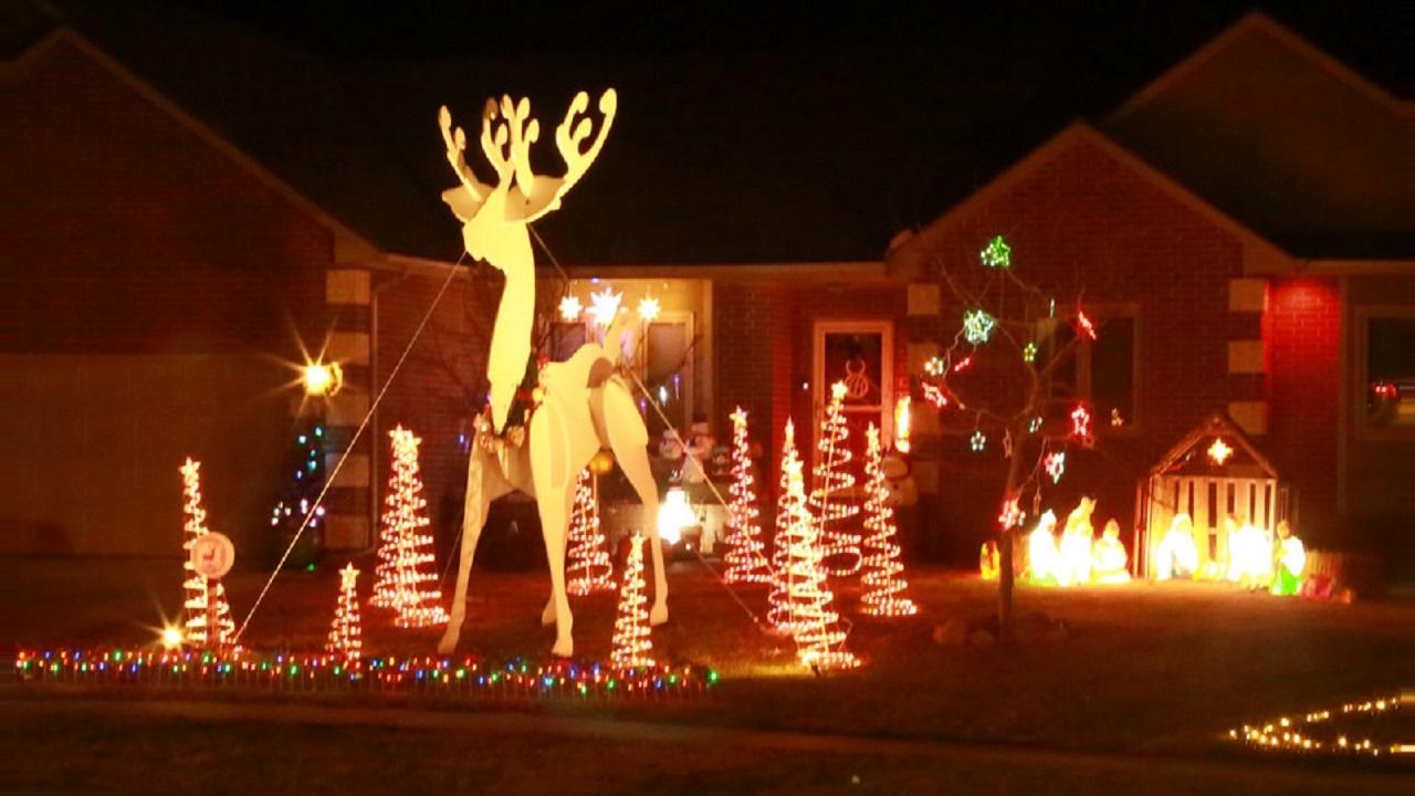 Christmas Light Wichita Ks 2021 Map Holiday Lights Brighten Towns Across Kansas