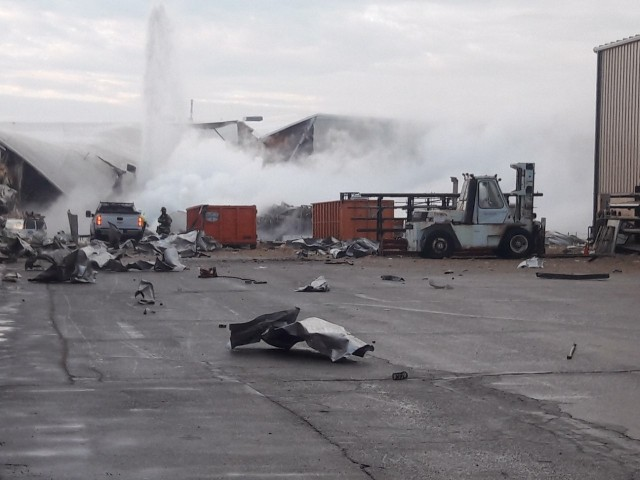 Beechcraft explosion: 'The building collapsed, I need help!'