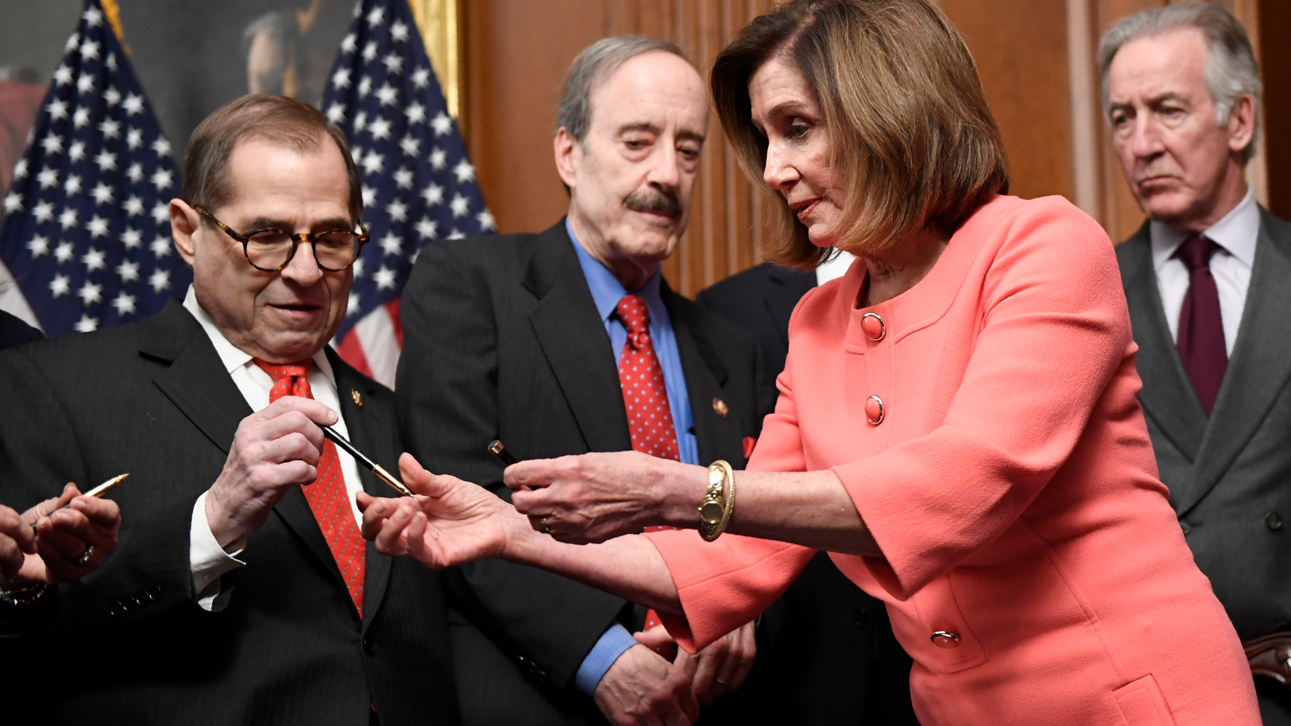 Jerrold Nadler, Eliot Engel, Richard Neal, Nancy Pelosi