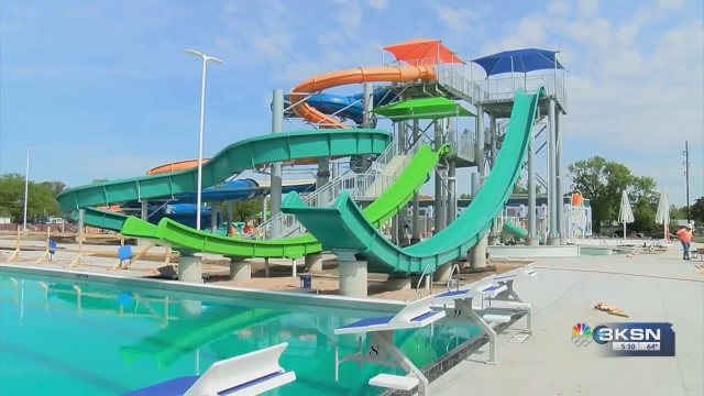 Garden City S Big Pool Is Back With A, Indoor Swimming Pool Garden City Ks
