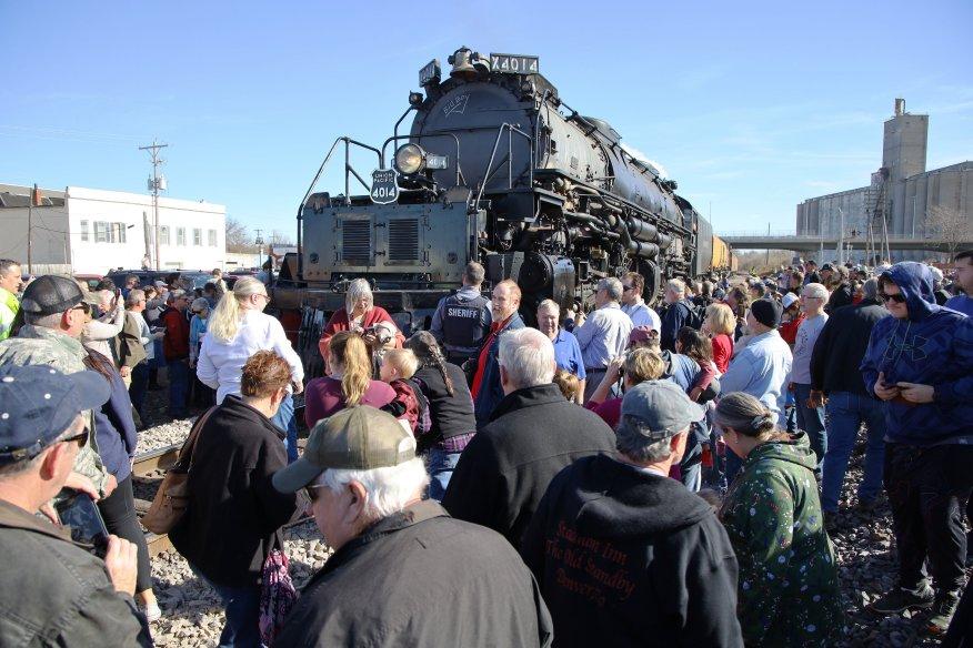 Historic Big Boy steam train returning to Northeast Kansas